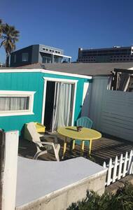 Beachside Deck of unit.