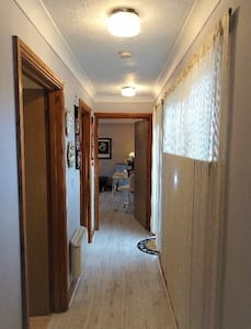 All doors are wide in The Hideaway for easy access.