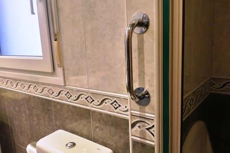 Barre di sostegno fisse per WC
