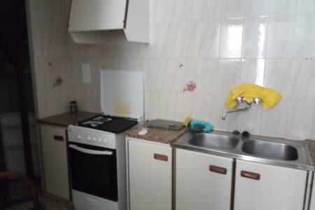 The kitchen is small but adequate with a cooker(gas) and a fridge freezer along with cooking utensils.