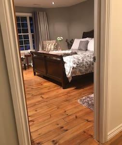 """32"""" wide door into the bedroom"""