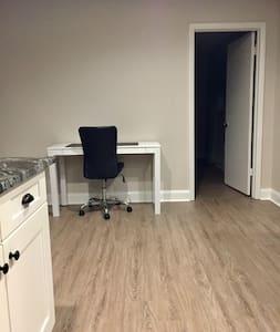 doorway to master bedroom with low/minimal threshold