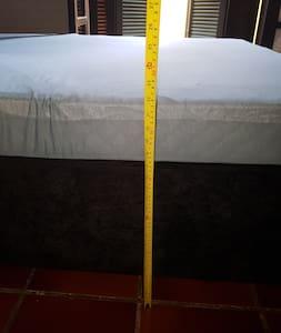 colchão a 55 cm do chão