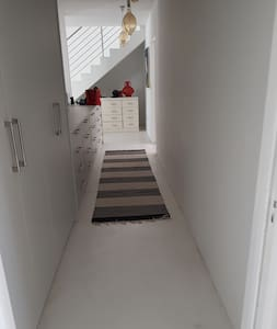 Wide entrance to Bedrooms