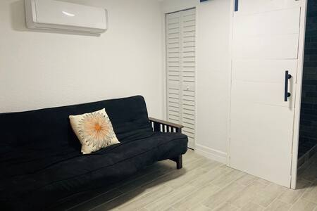 Sofa Bed with bathroom access