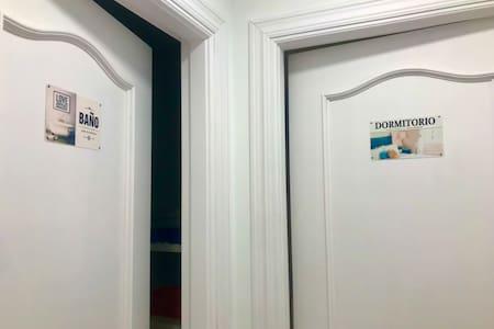 Puertas habitación y baño