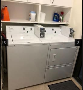 Laundry Room on site for our guest. Quarters needed. Washer $2 per load Dryer $2 per load