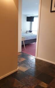 Lower floor bedroom.