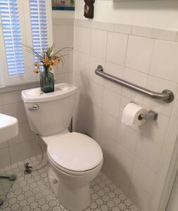 Bar for toilet