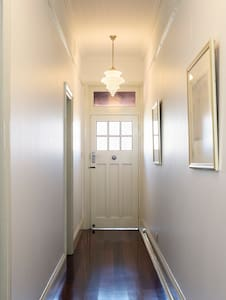 Entry to bedrooms off hallway