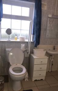 Fasta greppstänger för toalett