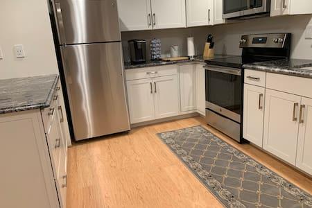 Wide kitchen area