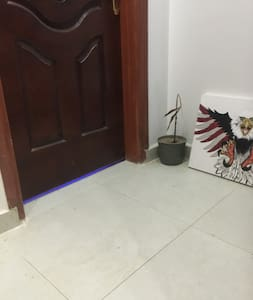 Flat room entrance