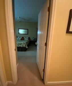 Wide doorways
