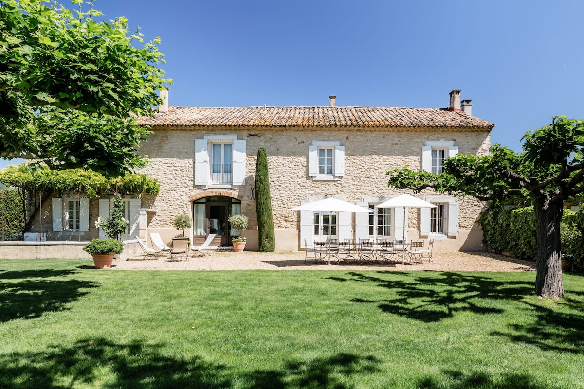 Surrounded by Olive Trees in Provence Villa