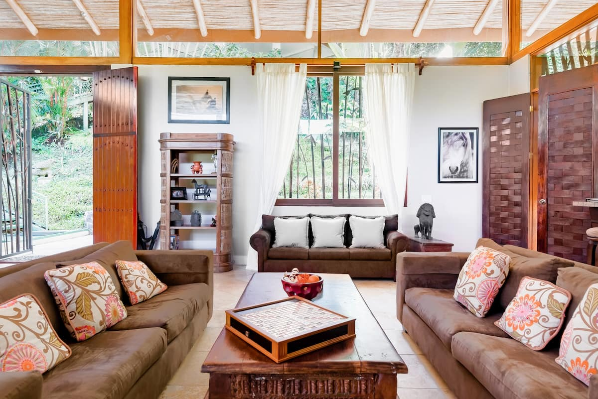 Lounge Under the Sunshine in a Balinese-Inspired Villa