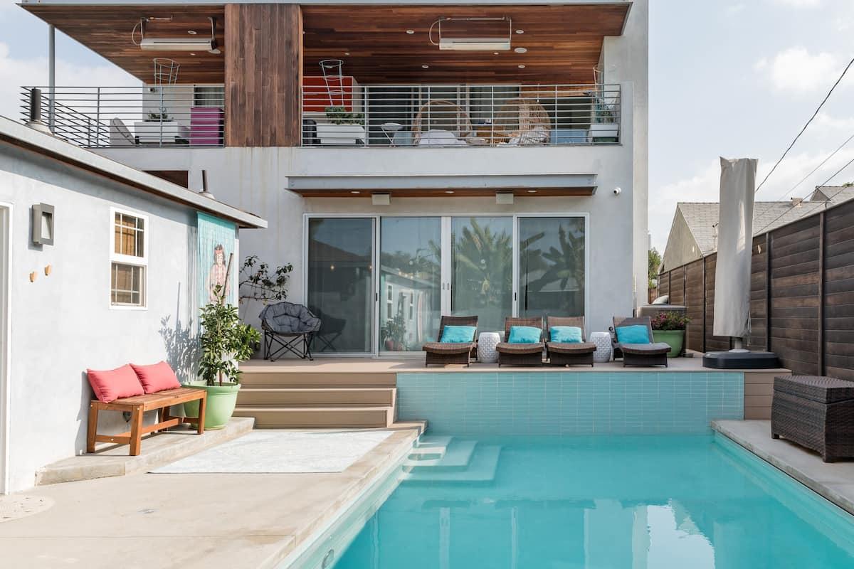 Aloha to Zen Venice Beach Heated Saltwater Pool & Two Baths