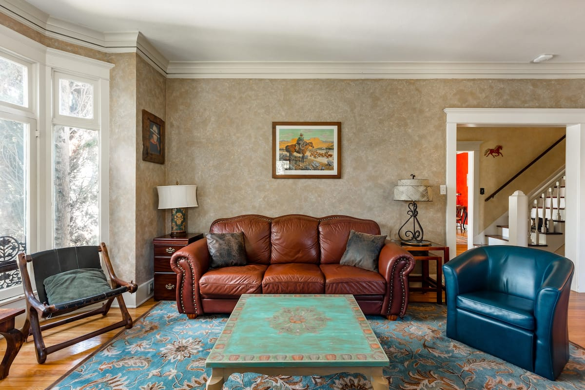 Discover the Old West-- Beautifully Updated Century Old Home