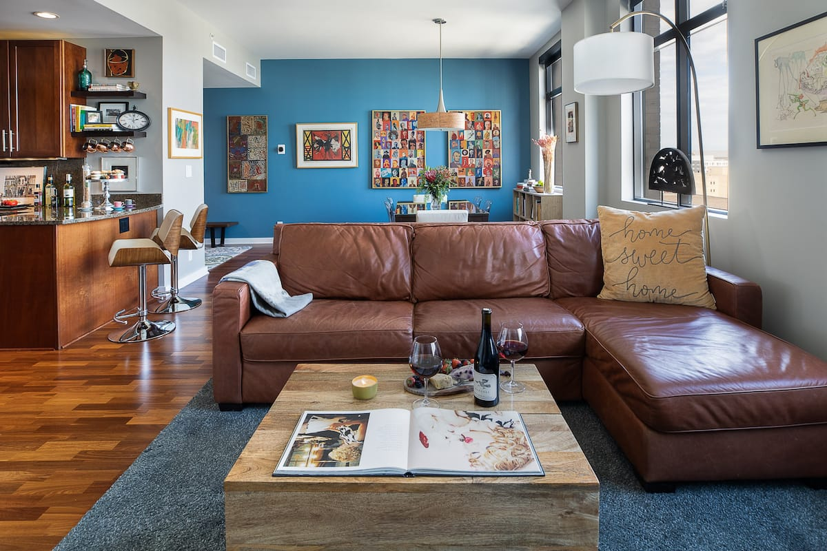Luxury Hotel Condo in Downtown Des Moines