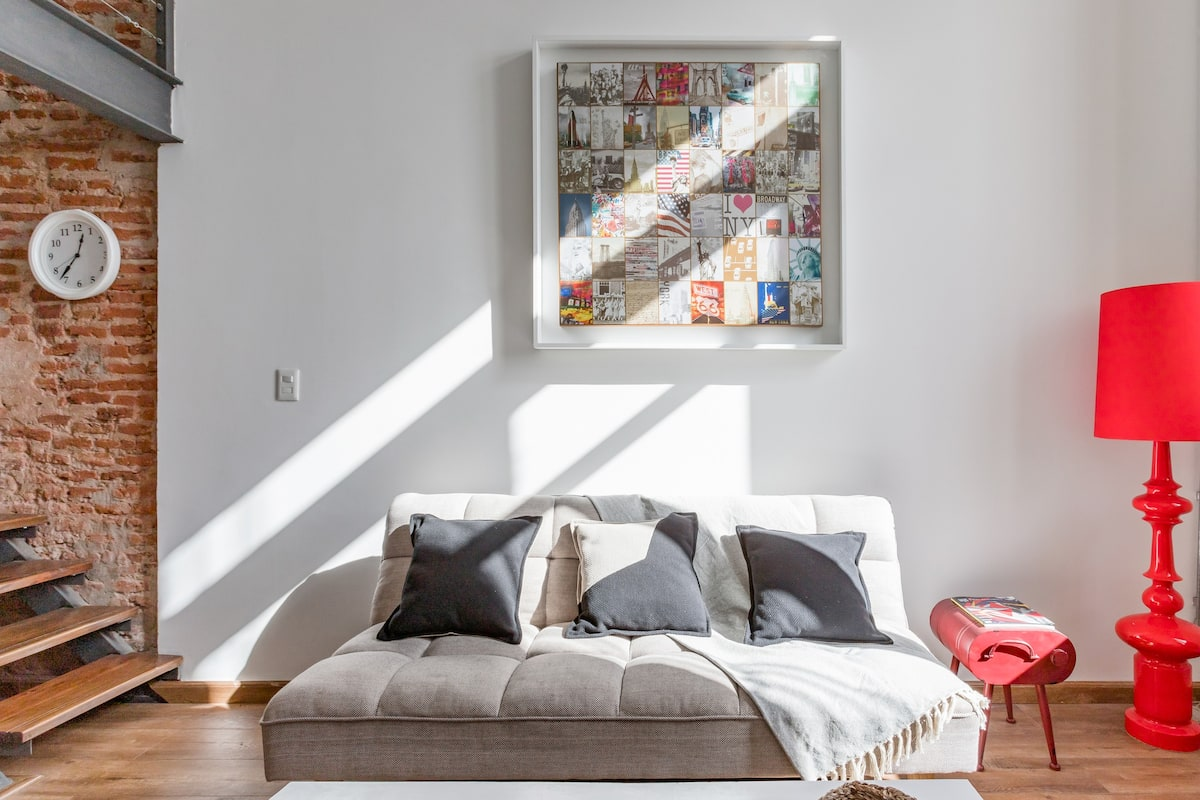 Boutique Loft in Renovated Historical Building