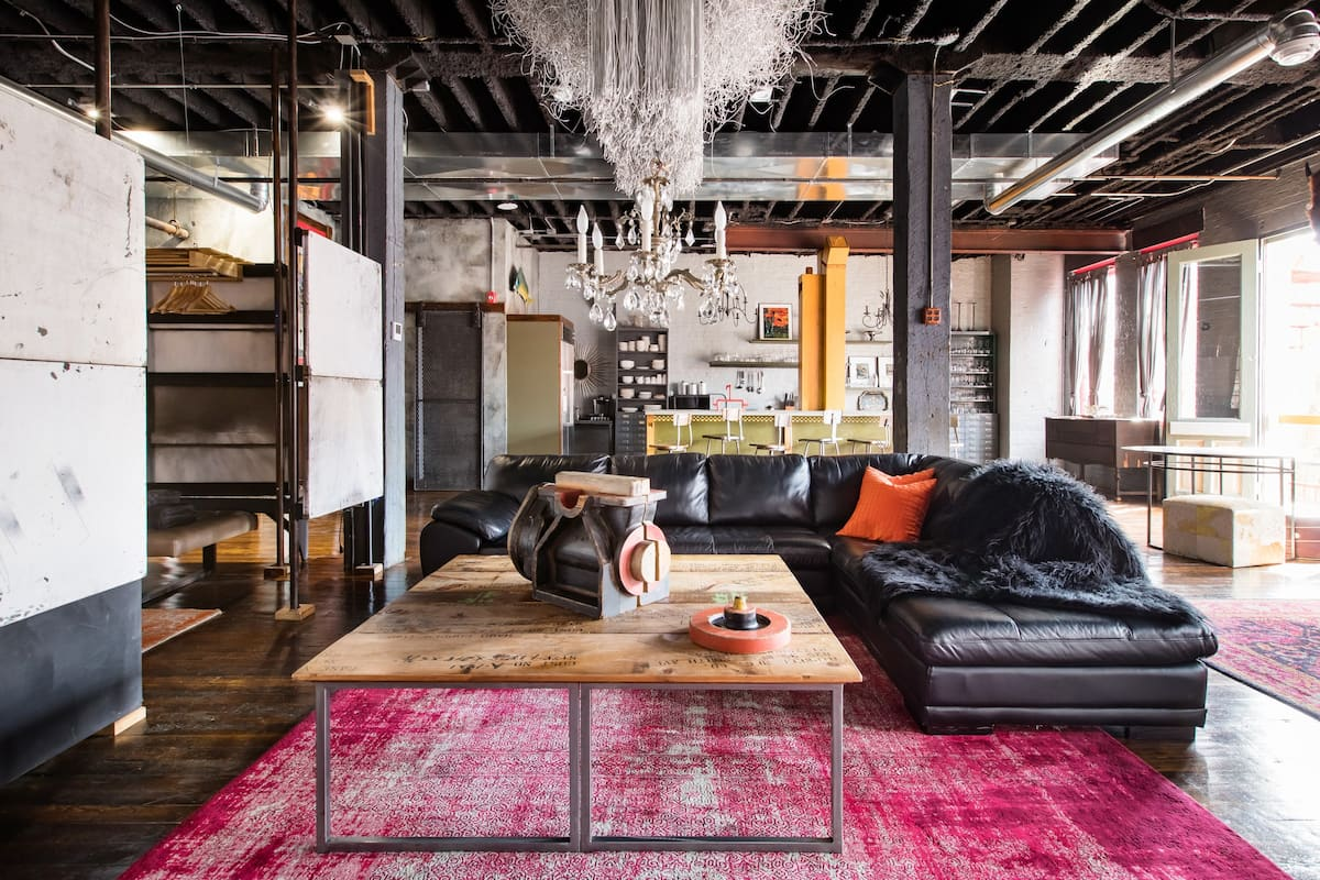 Stylish Vibes in a Renovated Flashlight Factory