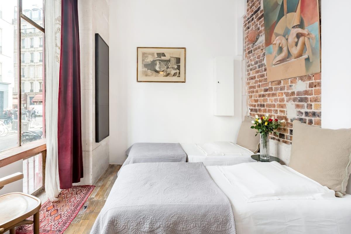 Notre Dame Romantic's Air Conditioning Apartment Paris Latin Quarter La Sorbonne