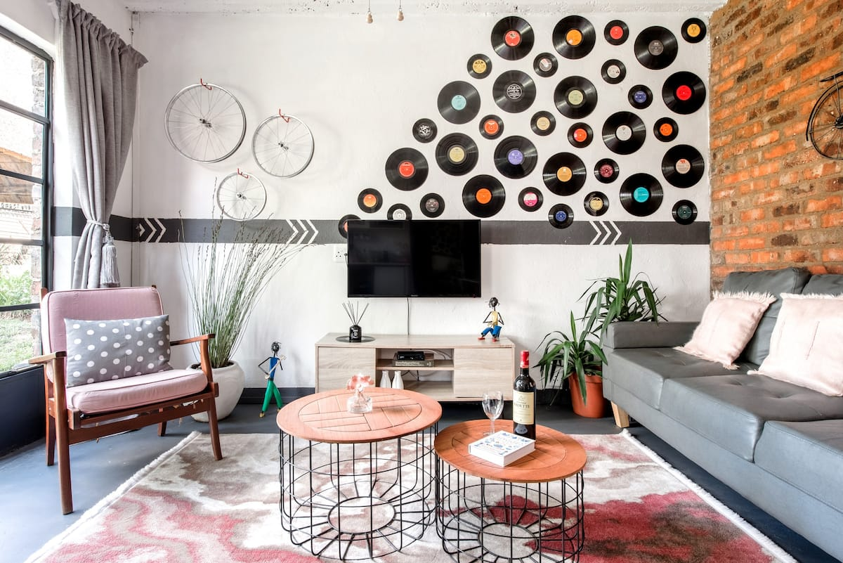 Retro-Vintage New Yorker Apartment in Centurion