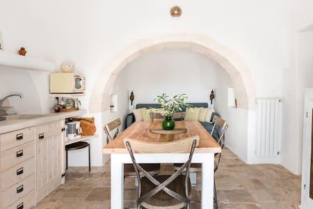 Rustic Trullo Architecture Cottage