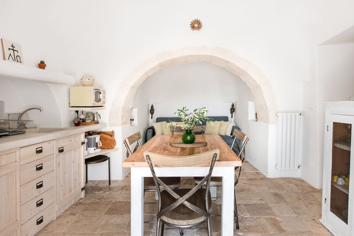 Rustic Trullo Architecture Cottage