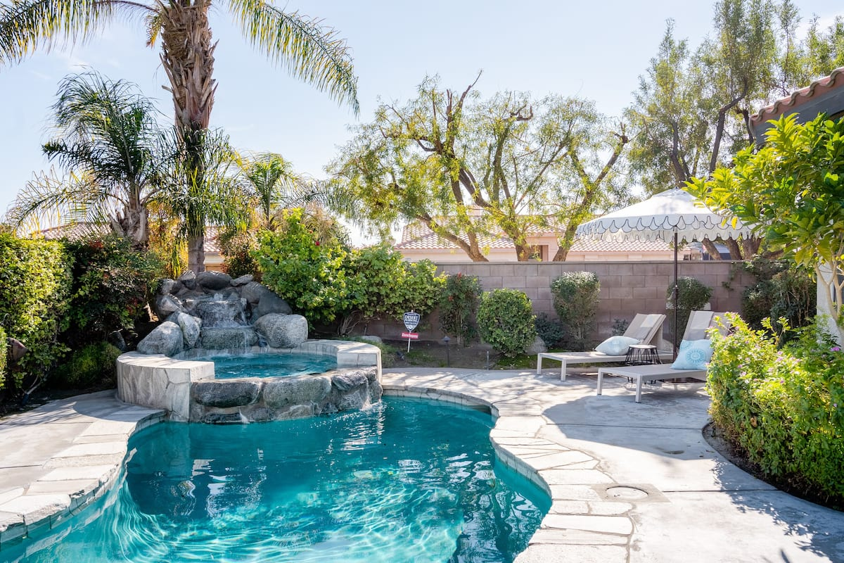Greater Palm Springs Villa With Saltwater Pool and Spa