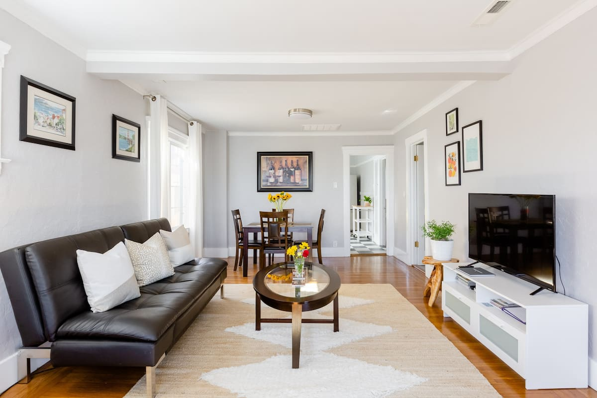 Admire Commanding City Views from an Airy Abode with Parking