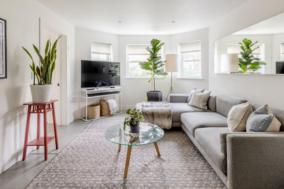Cozy Contemporary North Oakland Apartment