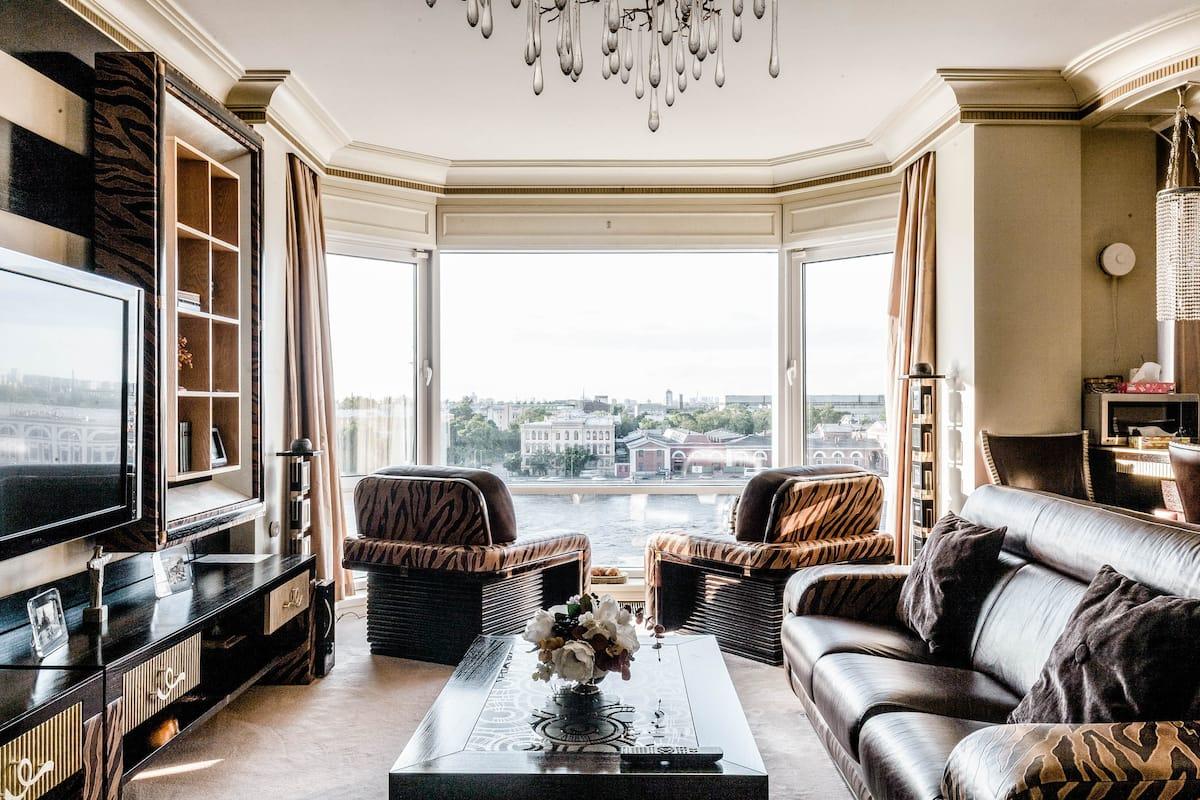 Романтические апартаменты в Центре с панорамным видом