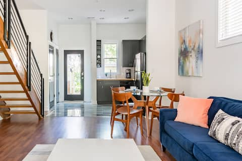Upscale Uptown Retreat on Quiet Residential Street