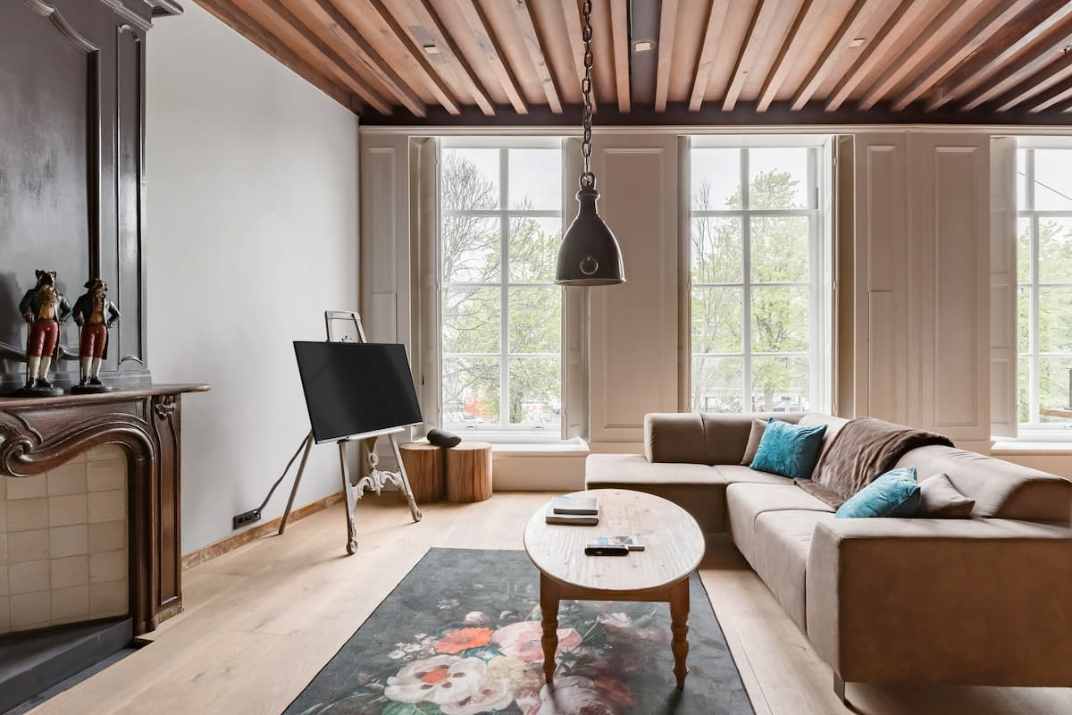 Sfeervol boutique-appartement in Middelburg, Zeeland
