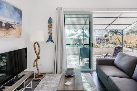 Manly Boathouse, Self Contained Garden Apartment