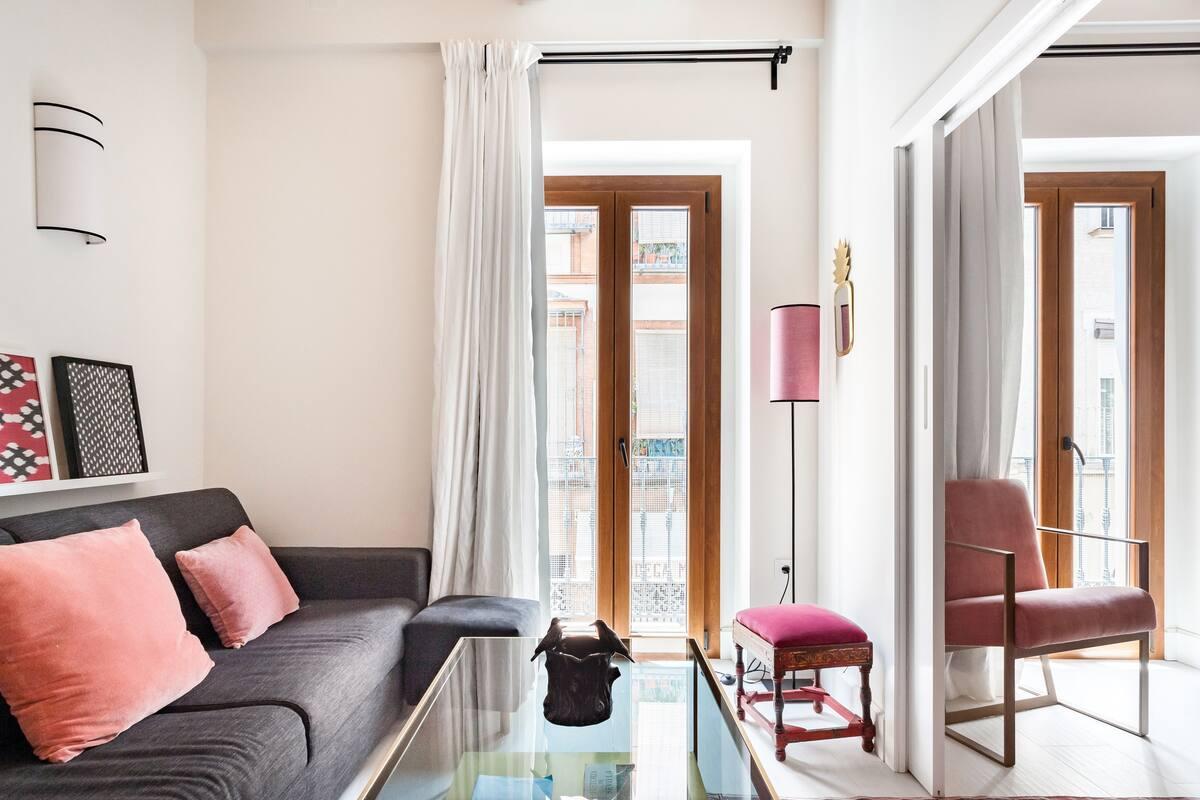 Alojamiento de revista en casa palaciega del centro histórico de Sevilla