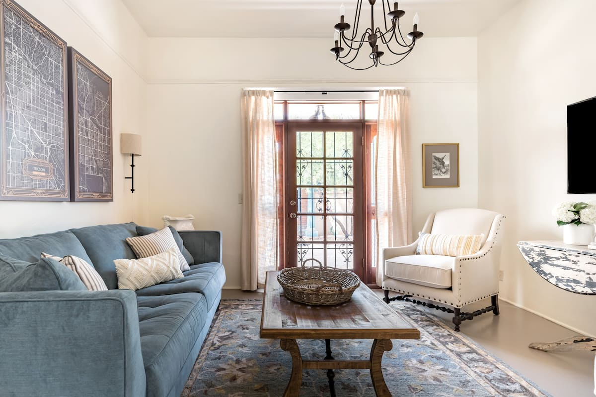 Decompress at a Historic Adobe Home with Cottage Charm