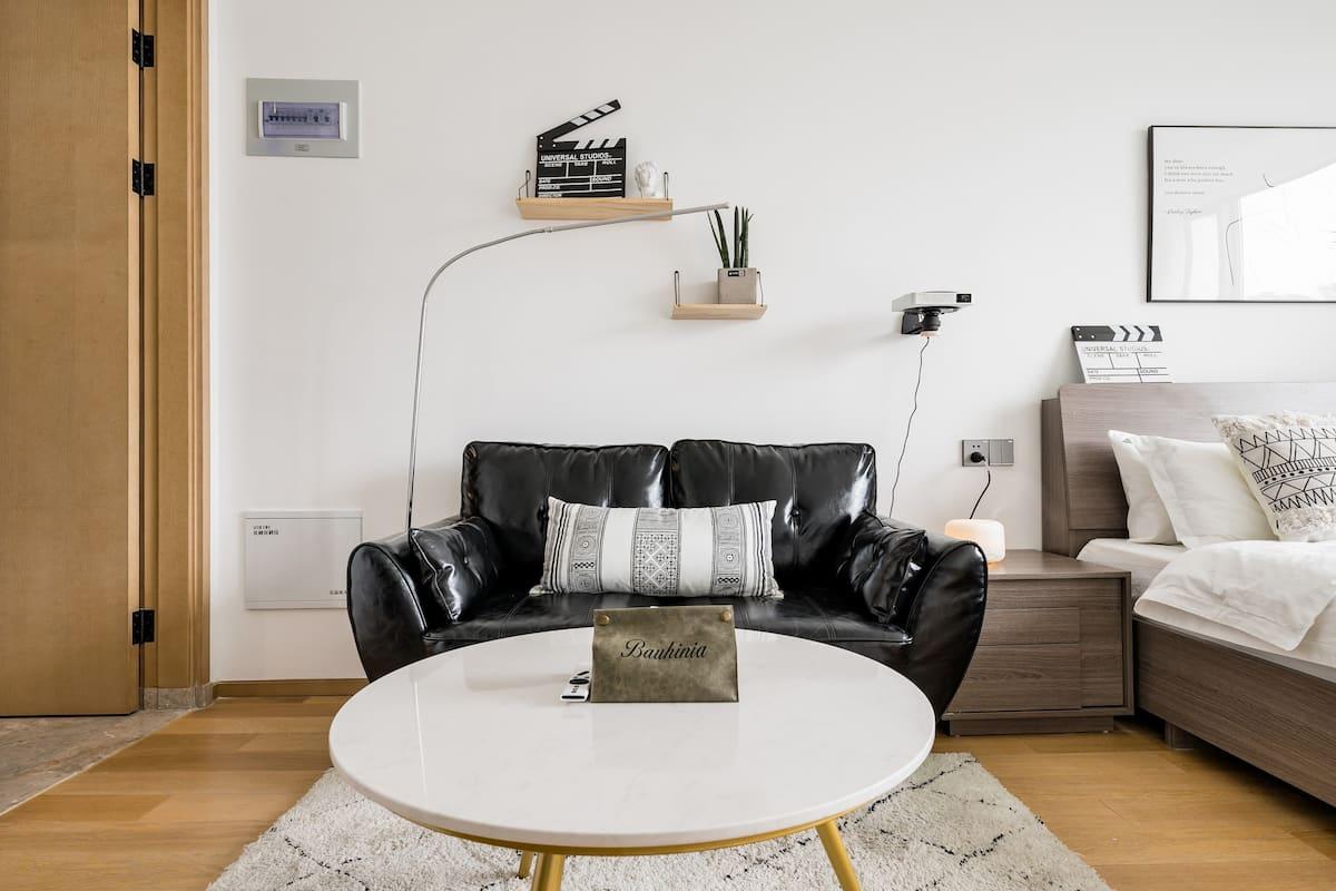 青小蜜 运河边 小河直街的摩洛哥风格的单身公寓随机排房
