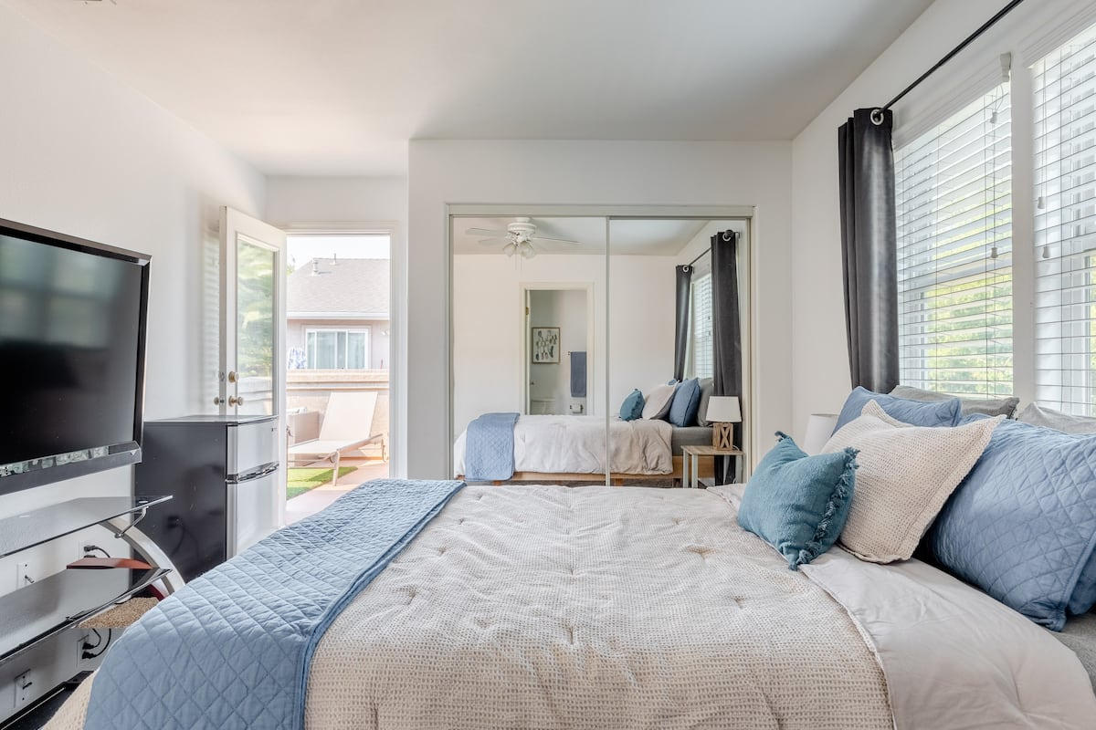 Catch Some Rays on the Balcony of a Luxe Master Bedroom