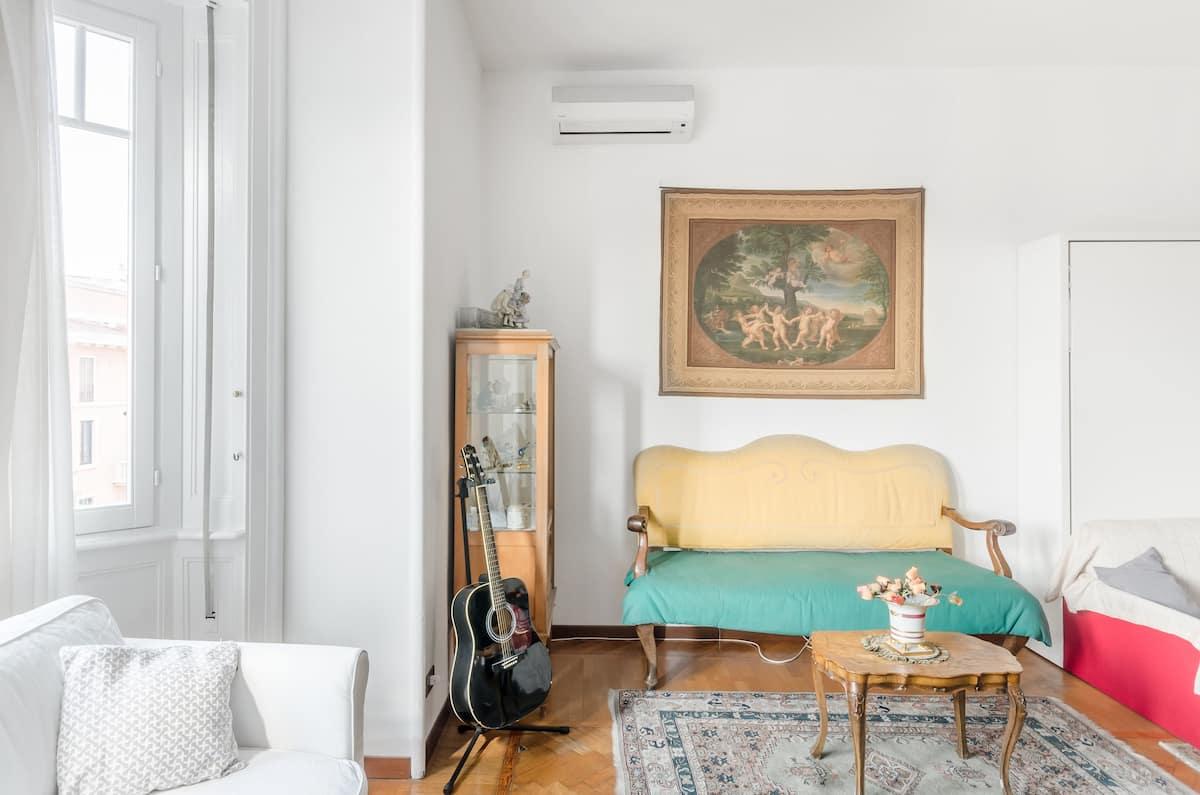 Sunshine-Filled Central Milan Home