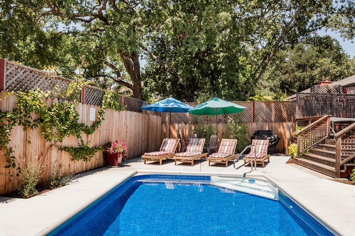 Sonoma Family Home With Pool and Bikes For All
