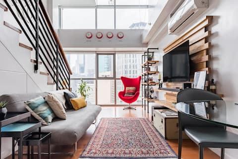 Alto Retro: New York Inspired Urban Loft Greenbelt Makati