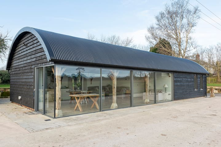 Fully accessible barn conversion.