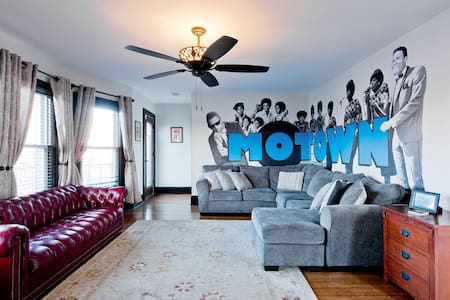 Motown BNB - Dance the night away! - 7 BR