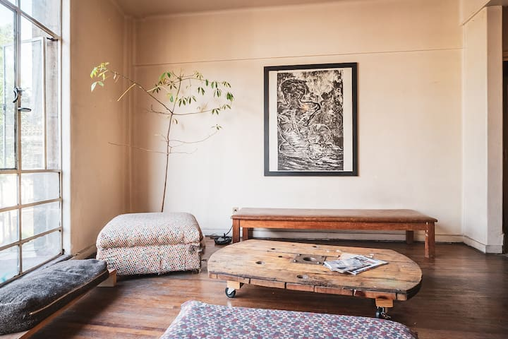 Cozy room in Mexico's downtown