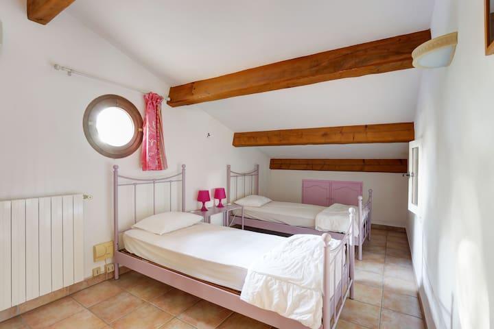 chambre 2 lits simples 1er ét
