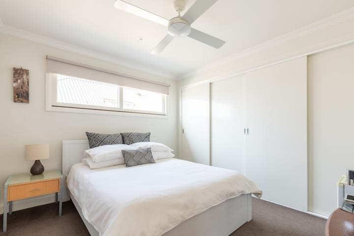 Upstairs in our Geelong West Town House