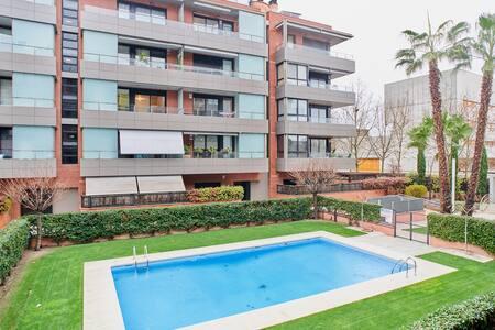 Cancelación gratuita Precioso piso San Cugat park