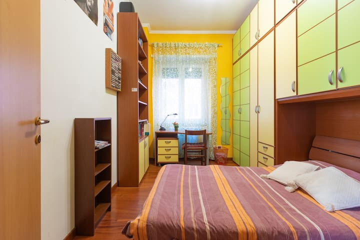 San Pietro Olimpico single quiet bedroom